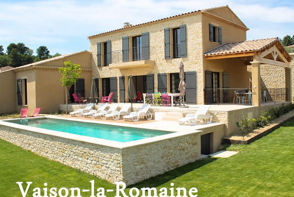 Location de vacances vaison la romaine au pied du mont ventoux - Camping vaison la romaine avec piscine ...